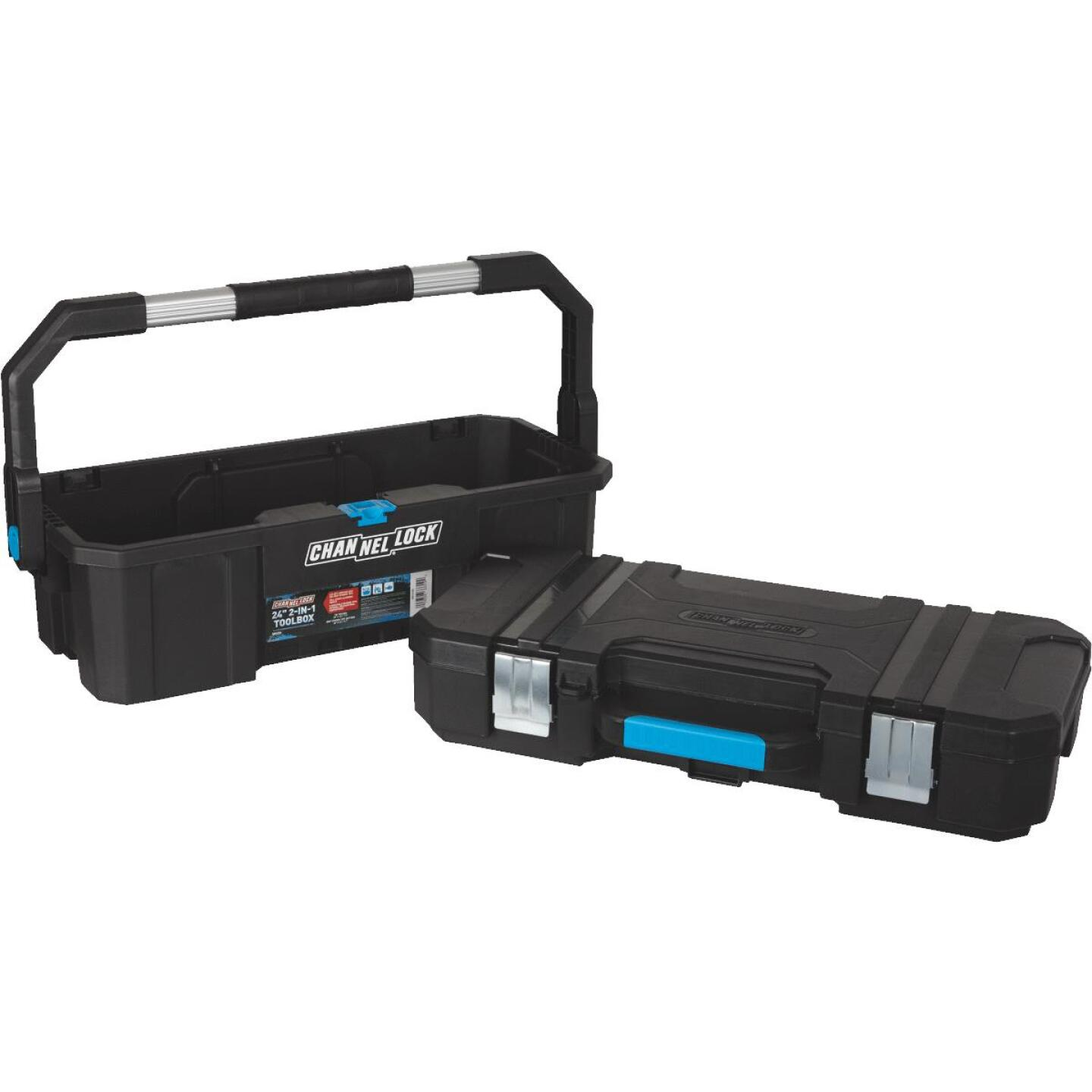 Channellock 24 In. 2-in-1 Toolbox Image 2